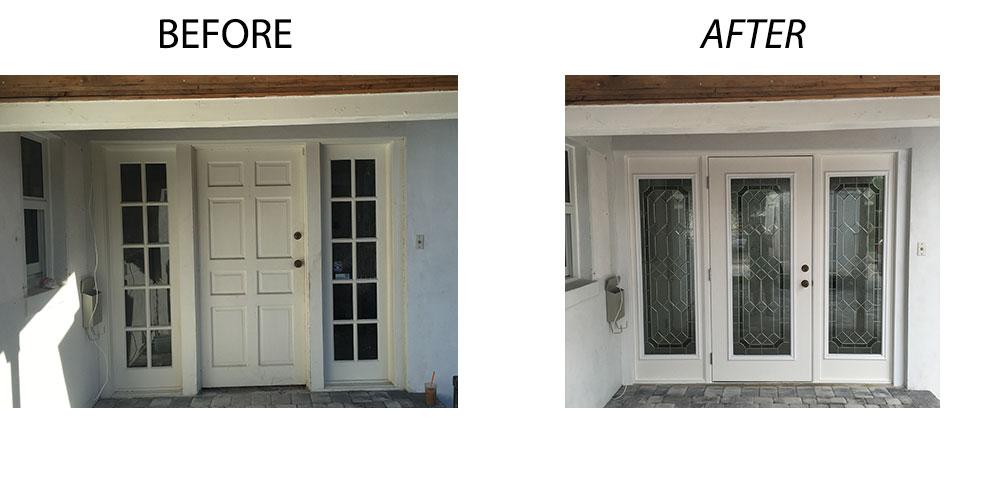Attractive Impact Resistant Door