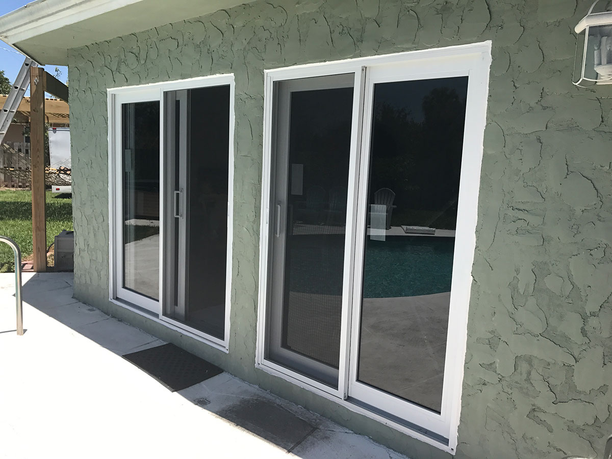 Impact Resistant Sliding Glass Doors & Photos of Impact Resistant Windows - AOA Construction