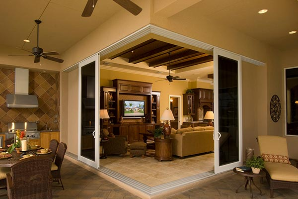 Impact Resistant Sliding Glass Doors in South Florida Home