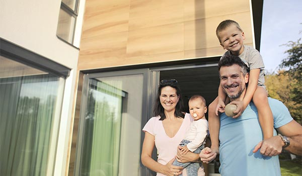 Impact Windows Installed in Young Family Home