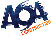 Logo for AOA Construction
