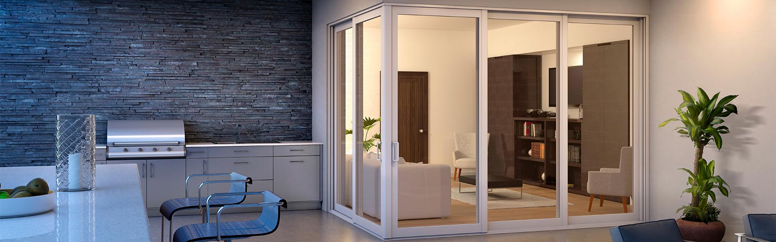 Storm French Doors